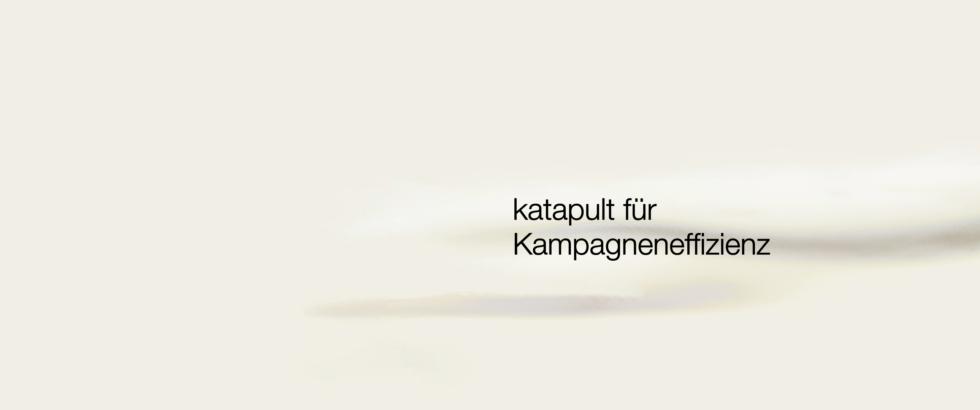 OHNE Frosch Text Kampagneneffizienz