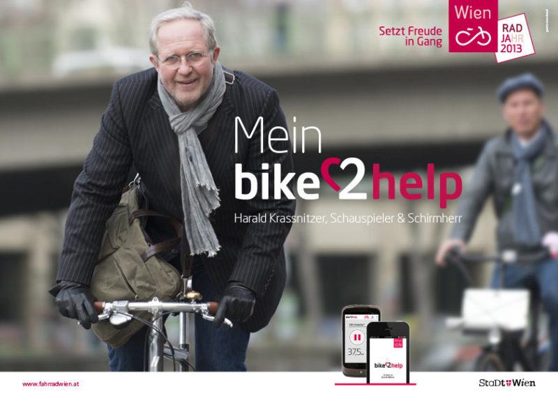 fahrrad_wien_Bike2Help_krassnitzer_mit App