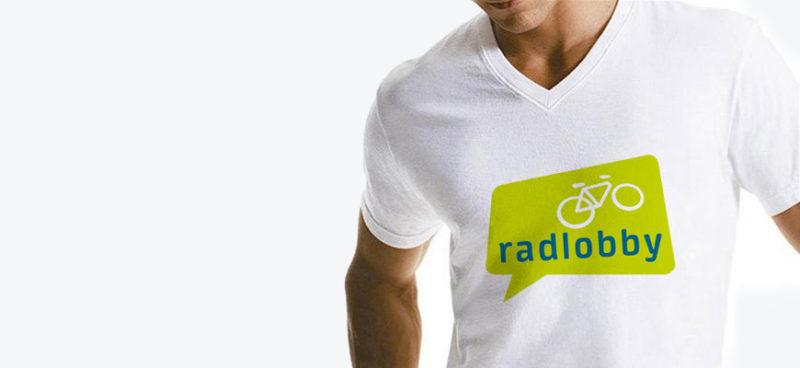 radlobby T-Shirt Branding